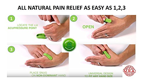 Aculief Natural Headache and Tension Relief- Wearable ...
