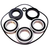 Rear Wheel Bearings Seals Kit Honda TRX250EX Sportrax 2001 2002 2003 2004 2005