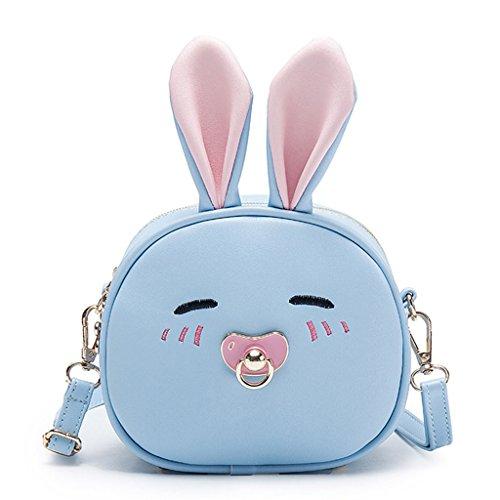 Light Rabbit Light Rabbit 7x7x16cm Bandolera 69x2 75x6 Blue Ear diseño niños Azul de para Claro Color Perro Bolso Dabixx 6 Blue Long 3 Cute 7qB1wTOU