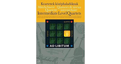 Editio Musica Budapest Intermediate Level Quartets EMB Series Softcover Edited by Laszlo Zempleni