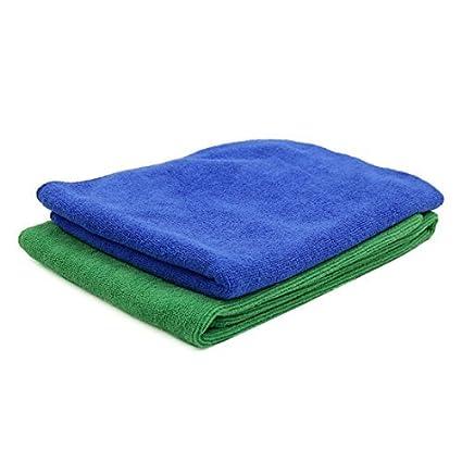 eDealMax 2pcs 65 x 33cm 300GSM toalla de microfibra paños limpios Para el Lavado de coches
