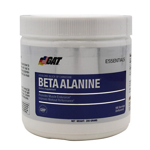 GAT Beta Alanine - Post-workout - Unflavored - 200 Grams