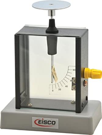 Eisco Labs Gold Leaf Electroscope: Science Lab
