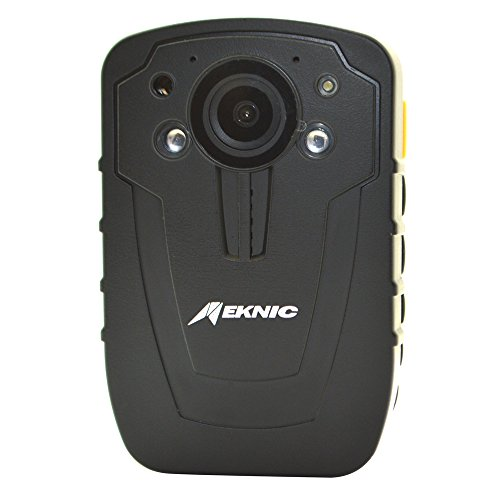 Meknic Q2 1296P Portable Security Guards Police Body Camera,Night Vision, Built in 32G Memory Body Worn Camera with 2