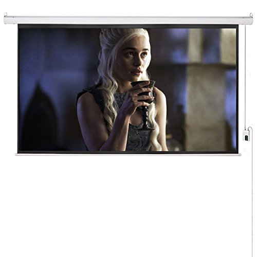 cloud-mountain-120-169-matte-white-projector-screen-electric-motorized-remote-control