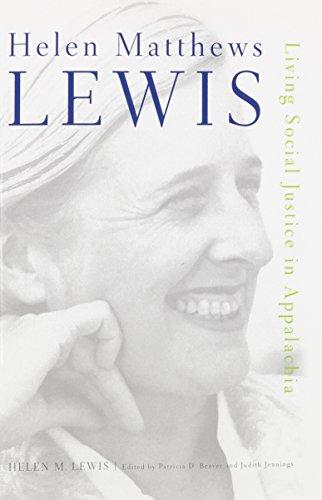 Helen Matthews Lewis: Living Social Justice in