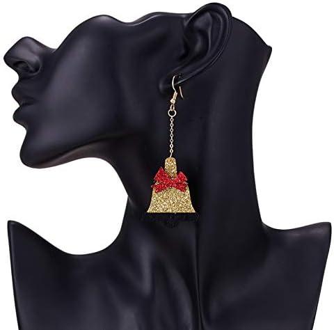 Hosaire No/ël Boucles doreilles Femmes Romantique Bijoux Forme de Renne Mignon Boucles doreilles de Pendentif Bijoux Cadeau pour No/ël