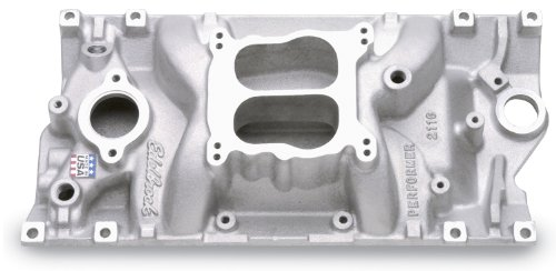 Edelbrock 2116 Performer Vortec Aluminum Intake Manifold (1999 Chevy Tahoe Intake Manifold compare prices)