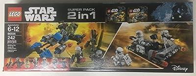 LEGO 2 in 1 Star Wars 66556