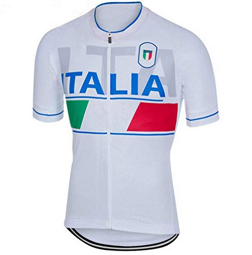 Cycling Jerseys Men's Bicycle Jersey Summer Breathable Jersey Bike Biking Shirt V264 (T, - Jersey Italia Cycling