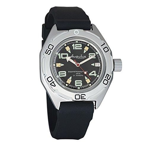 Watch Case Dive Resin (Vostok Amphibian Military Automatic WR 200m Mens Self-winding Amphibia Case Wrist Watch #670334 (resin))