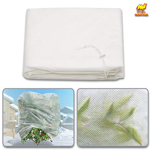 """Strong Camel Warm Worth Plant Cover Tree/Shrub Cover Plant Protecting &Frost Protection Bag (120"""" H x 120"""" Dia)"""