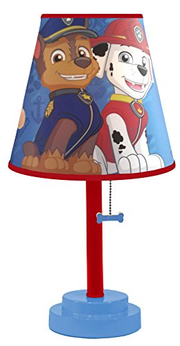 Nickelodeon Paw Patrol Table Lamp with Die Cut Lamp Shade for $<!--$20.39-->