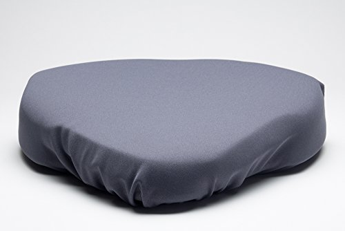 SITTS Posture Cushions Original Foam 4 inch + 1 inch Serene Topper & Wedge Cushion Fight Sciatic Pain with Ergonomic Correction at Computers/Office Chair Seats & Cars Seat. Endless Uses,