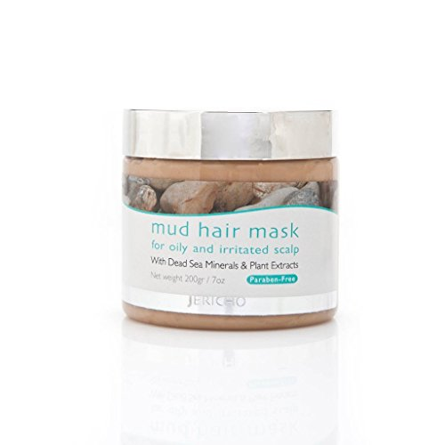 Jericho Cosmetics Mud Hair Mask for Oily & Irritated Scalp