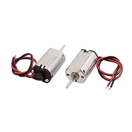 Motor DC eDealMax 2pcs DC 1.5-6V 21500RPM par grande de micro masaje eléctrico - - Amazon.com