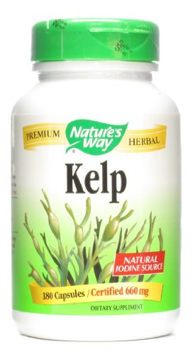 Natures Way Kelp 600mg VCaps product image