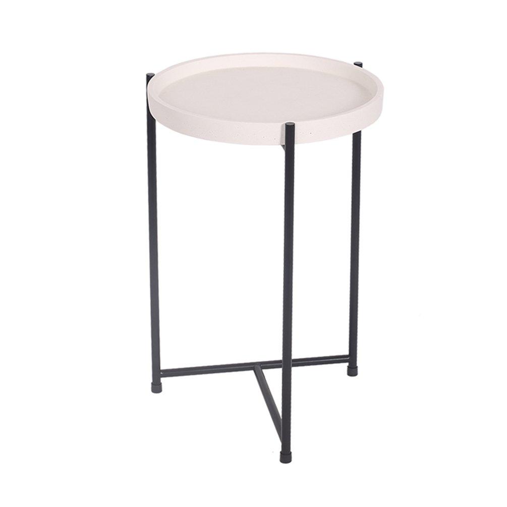 CSQ 家庭用スモールテーブル、クリエイティブリビングルームベッドサイドテーブルいくつかのサイドソファテーブル装飾テーブル交渉テーブルコーヒーテーブルコンピュータデスク30 * 30 * 47CM (色 : #1) B07F26BL67 #1 #1