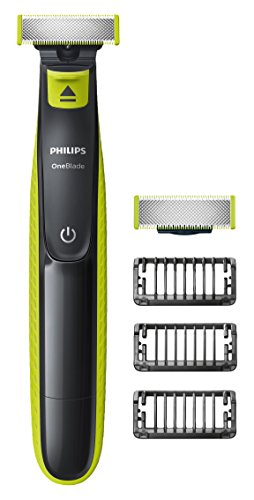 Philips OneBlade Hybrid Trimmer & Shaver with 3 x Lengths & 1 Extra Blade...