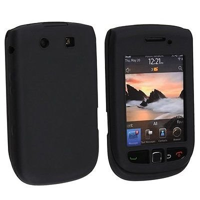 Silicone Skin Case for Blackberry Torch 9800/9810 - Black Blackberry Torch Silicone Skin