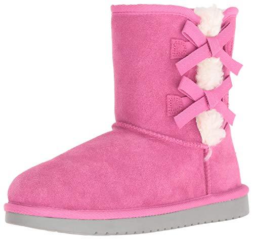 Koolaburra by UGG Girls' Victoria Short Fashion Boot Raspberry Rose 01 Youth US Little Kid (Rosen Boots Ugg)