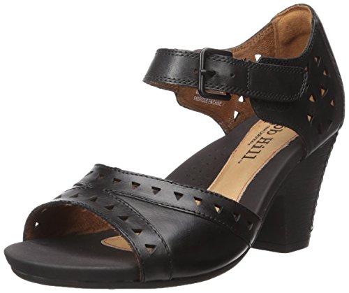Sandalo Con Tacco Trista-ch Cobb Hill Donna Rockport Nero