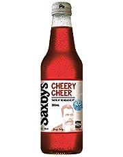 Saxby's No Sugar Cheery Cheer, 15 x 330 ml, No Sugar Cheery Cheer
