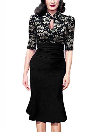 Buy black lace dress celebrities - 5