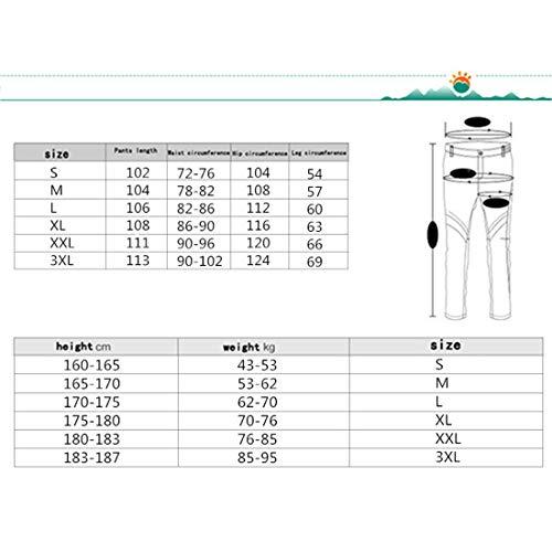 Lishihuan E Pantaloni 01 Sci Set Da Giacca Invernali Uomo rnRaxr