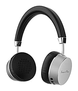 Francois et Mimi ANC Active Noise Cancelling Bluetooth Headset Wireless Earphones with USB Charging Cable & Manual | Stereo with Built-In Mic, Volume Control & Adjustable Headband