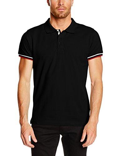 Noir Homme Polo Clique Newton black npc10UTWpf