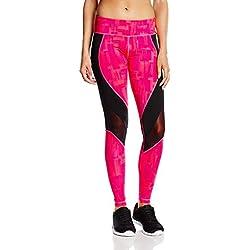 Zumba Women's Hyper Melt Mesh Long Leggings, Gumball, Medium
