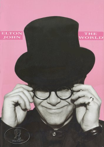 Elton John 1989-1990 Tour Concert Program Programme Book