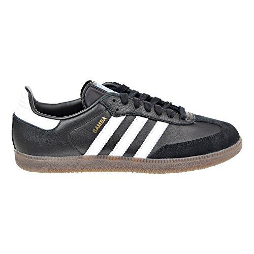 Heels Suede Adidas - adidas Samba Originals Men's Shoes Core Black/White/Gum bz0058 (14 D(M) US)