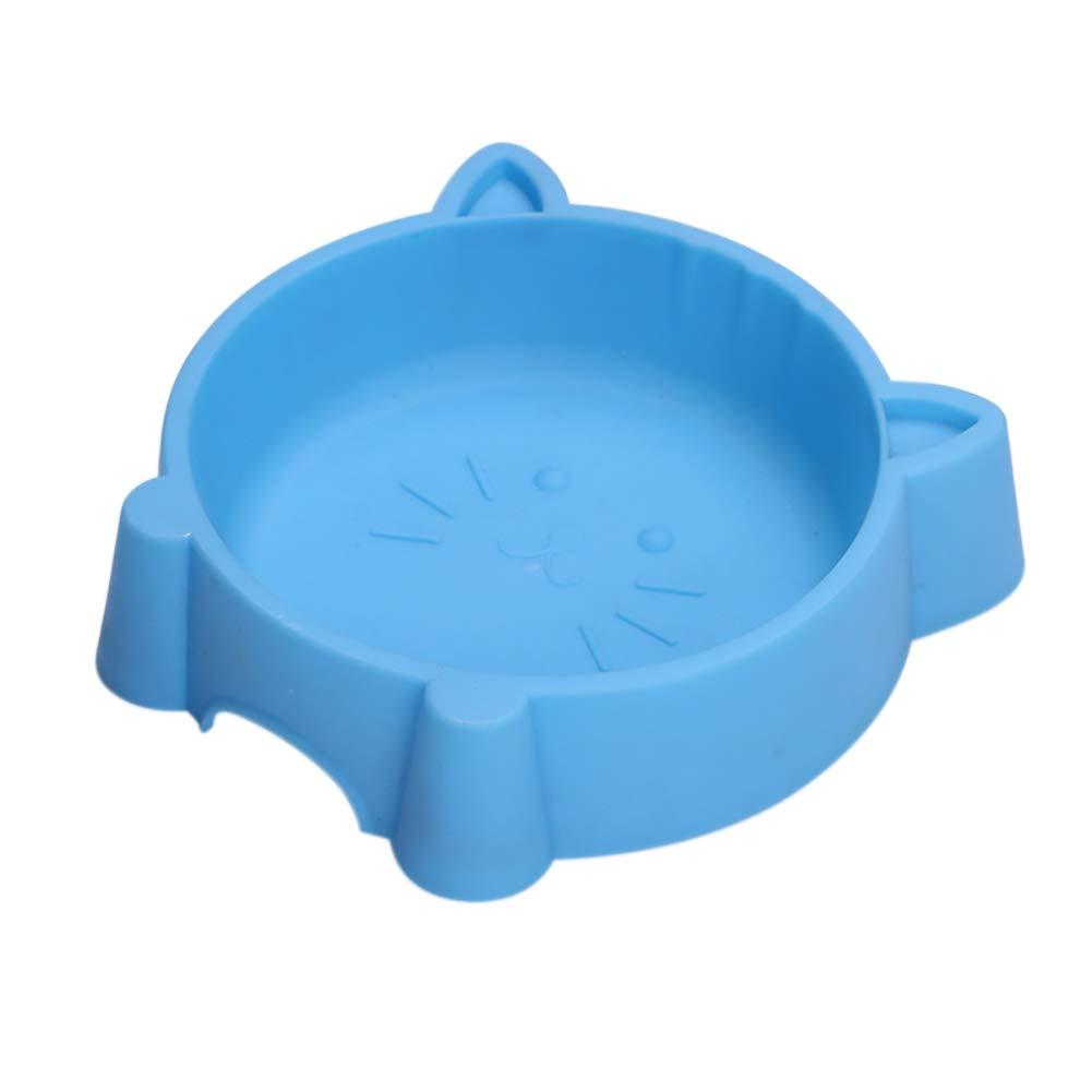 PanDaDa Pet Cat Dog Plastic Food Bowl Anti-Slip Durable Lovely Shape Pet Food Feeder