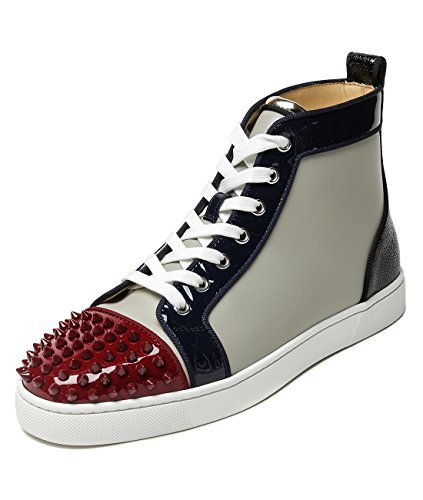 wiberlux-christian-louboutin-mens-studded-cap-toe-color-blocked-high-top-sneakers-41-gray