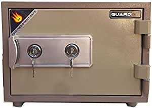 Anti-theft safe and fireproof 40 kg with solid steel, medium size.