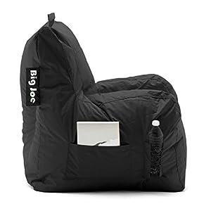 Big Joe Dorm Bean Bag Chair, Stretch Limo Black