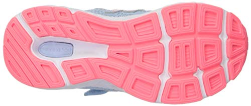 New Balance Girls' 680v5 Hook and Loop Running Shoe, air/Guava, 2 XW US Infant by New Balance (Image #3)
