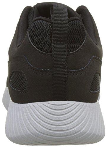 Black Eaddy Depth Charge Uomo Nero Sneaker Skechers 7w40CqS