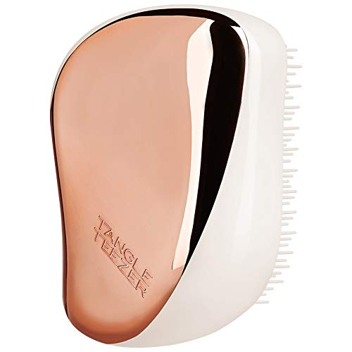 Tangle Teezer Compact Styler On-the-go Detangling Hairbrush - Ivory Rose Gold 1 Pc