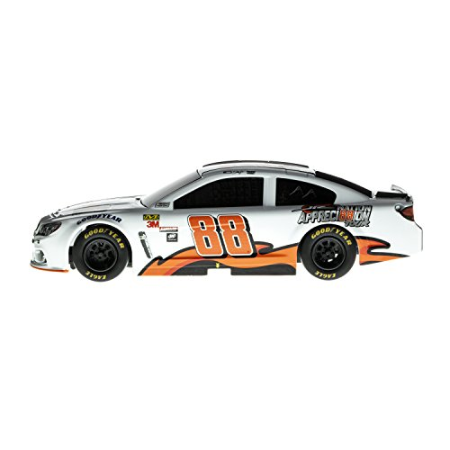 Lionel Racing 14630 NASCAR Authentics 2017 Dale Earnhardt Jr #88 Appreci88ion Lionel Racing Diecast, White, Orange, Black; 1: 24 Scale