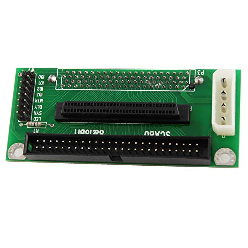 68 Female to IDC 50 Female Adapter Monoprice SCSI HPDB
