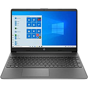 HP 15s du2058tu 15.6-inch Laptop (Core i3-1005G1/4GB/1TB HDD/Windows 10 Home/Intel UHD Graphics), Jet Black