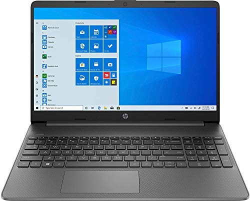 HP 15s du2036TX 15.6-inch Laptop (10th Gen i5-1035G1/8GB/1TB HDD/Windows 10 Home/MS Office 2019/2GB NVIDIA MX 130 Graphics), Jet Black