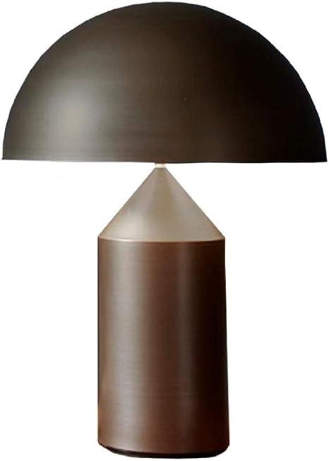 Oluce Atollo 239 Bronzo Lampada Da Tavolo 2x75w E27 Dimmerabile By Vico Magistretti Amazon It Illuminazione