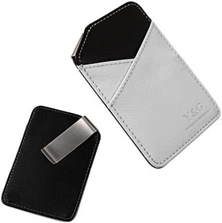 YCM0301 Black Mens Money Clip and Card Holder More Color Available By Y&G