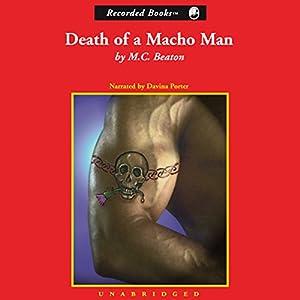 Death of a Macho Man Hörbuch