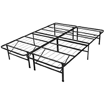 this item spa sensations steel smart base queen bed frame black