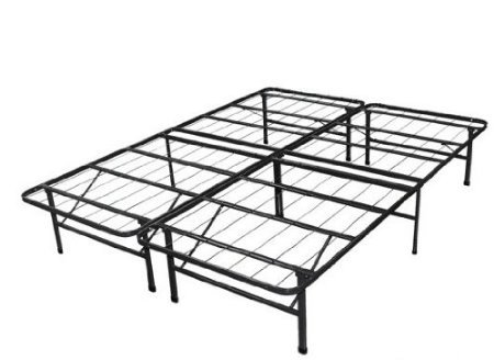 Spa Sensations Steel Smart Base Bed Frame Black, Full Size ()